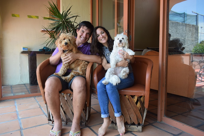Lucía and Matías - International house sitters