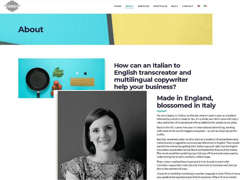 Guía para redactar tu página web de traducción con alma emprendedora - Fuschia
