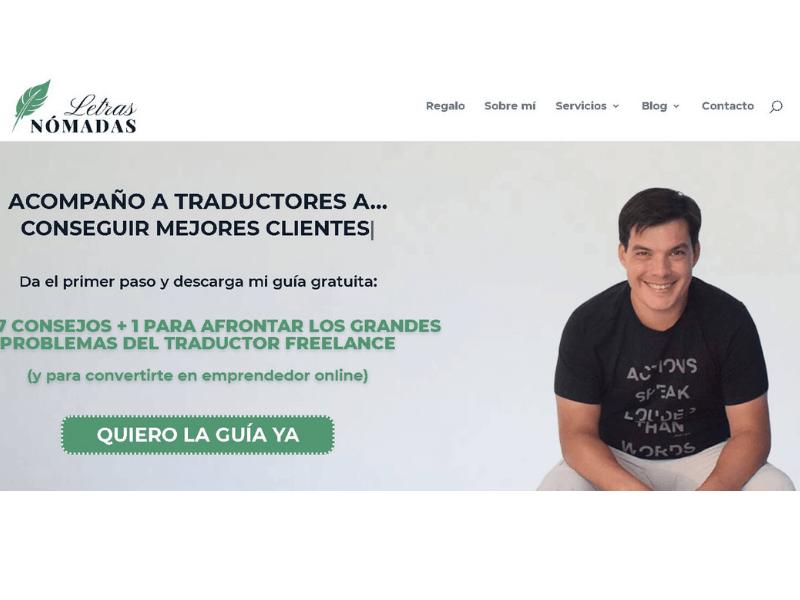 Guía para redactar tu página web de traducción con alma emprendedora - Letras Nómadas