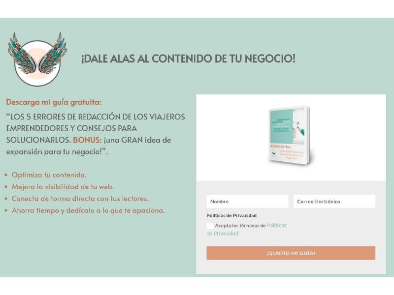 Guía para redactar tu página web de traducción con alma emprendedora - Palabras Viajeras